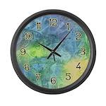 Undersea Luminescence Large Wall Clock