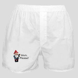 Gnome Bitch Please Boxer Shorts