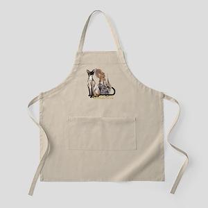 Siamese Cats BBQ Apron