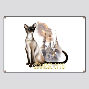 Siamese Cats Banner