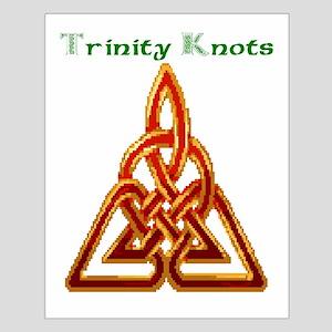 Joe's Trinity Knot Small Poster