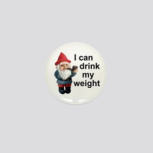 Drink my weight, Gnome Mini Button