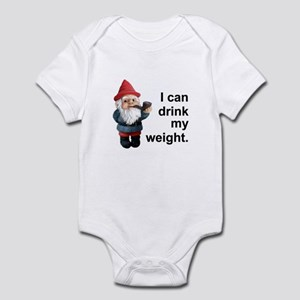 Drink my weight, Gnome Infant Bodysuit