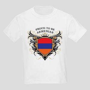 Proud to be Armenian Kids Light T-Shirt