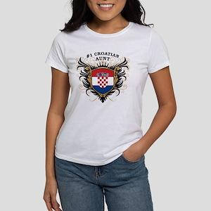 Number One Croatian Aunt Women's T-Shirt