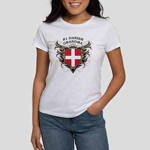 Number One Danish Grandma Women's T-Shirt