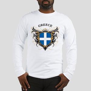Greece Long Sleeve T-Shirt