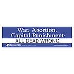 Dead Wrong Bumper Sticker (50 pk)