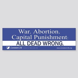 Dead Wrong Bumper Sticker