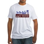Pro Ballet Vote Fitted T-Shirt
