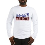 Pro Ballet Vote Long Sleeve T-Shirt