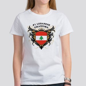 Number One Lebanese Grandma Women's T-Shirt