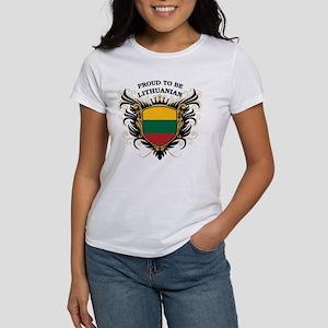 Proud to be Lithuanian Women's T-Shirt