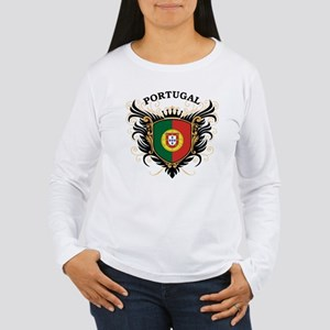 Portugal Women's Long Sleeve T-Shirt