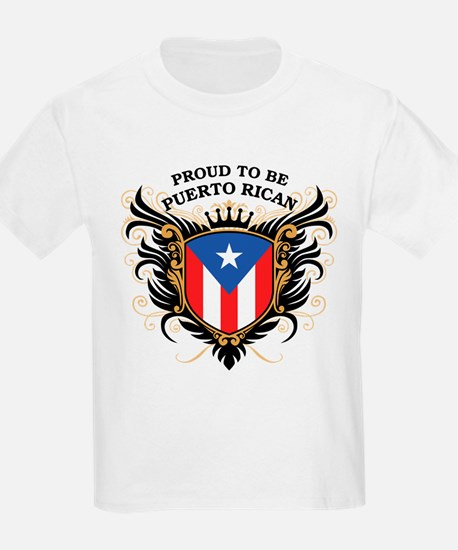Proud to be Puerto Rican T-Shirt