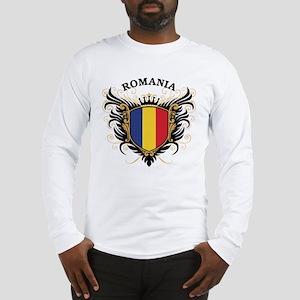 Romania Long Sleeve T-Shirt