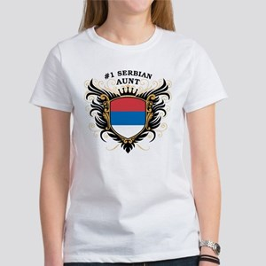 Number One Serbian Aunt Women's T-Shirt