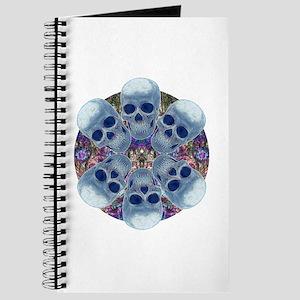 Skull Mandala Journal