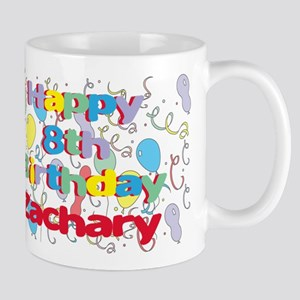 Zachary's 8th Birthday Mug