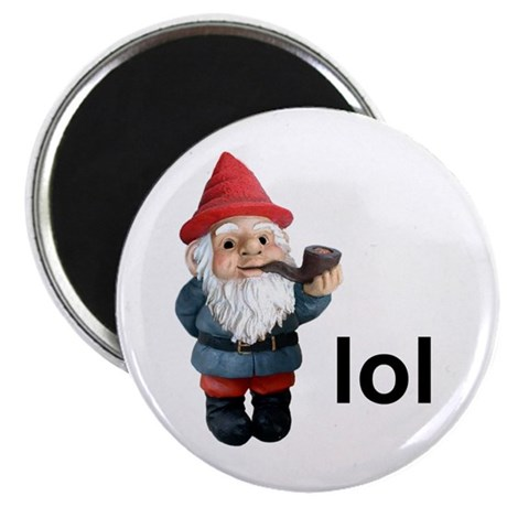"""Lol Gnome 2.25"""" Magnet (100 pack)"""