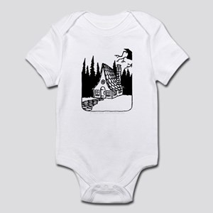 'Gingerbread House' Infant Bodysuit