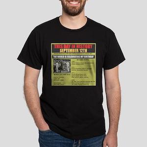 september 12th-birthday Dark T-Shirt