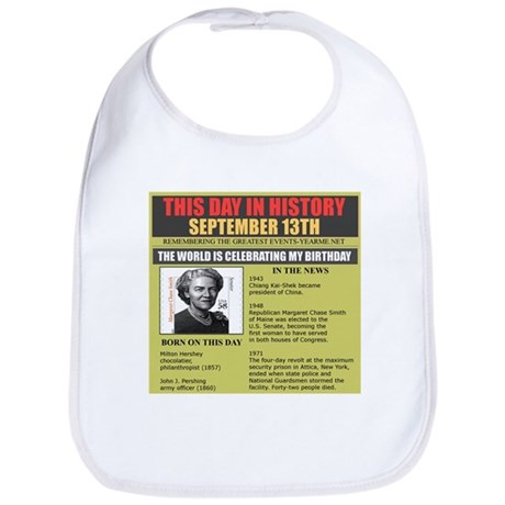 september 13th-birthday Bib