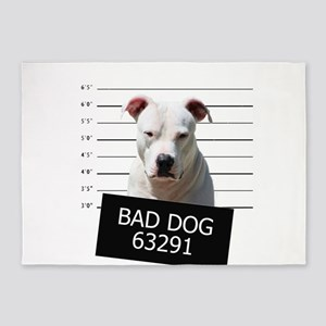 Bad Dog 5'x7'Area Rug