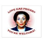 Gas Prices (anti-Pelosi) Small Poster