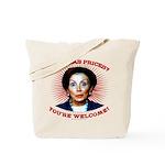 Gas Prices (anti-Pelosi) Tote Bag