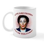Gas Prices (anti-Pelosi) Mug