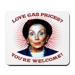 Gas Prices (anti-Pelosi) Mousepad