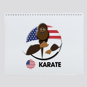 karate Wall Calendar