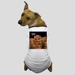 Santa Fe at Night Dog T-Shirt