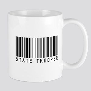 State Trooper Barcode Mug