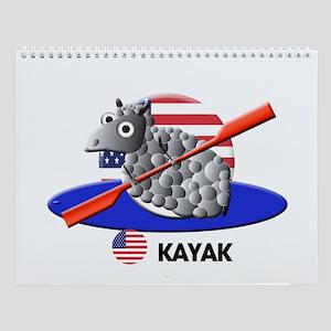 kayak Wall Calendar