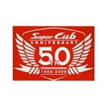 50 Year Anniversary Rectangle Magnet