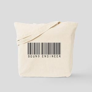 Sound Engineer Barcode Tote Bag