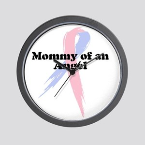 Mommy of an Angel Wall Clock
