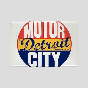 Detroit Vintage Label B Magnets