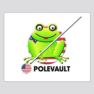 pole vault Small Poster