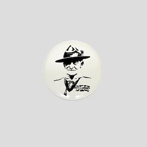 Baden Powell Mini Button