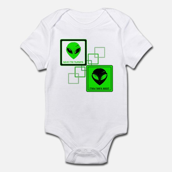 Save the Humans! Infant Bodysuit