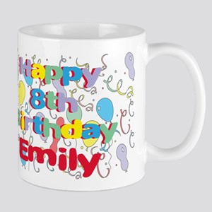 Emily's 8th Birthday Mug