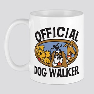 Official Dog Walker Mug