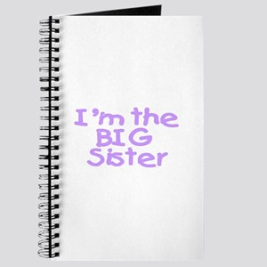 I'm The Big Sister (Purple) Journal