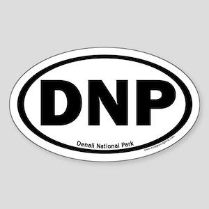 Denali National Park Oval Sticker