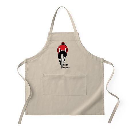 French Biker BBQ Apron
