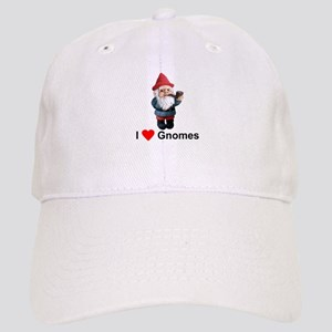 I Love Gnomes Cap