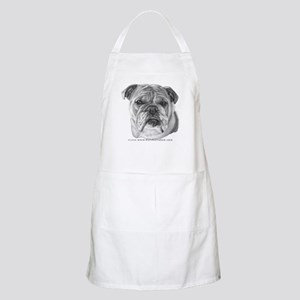 Allie, English Bulldog BBQ Apron